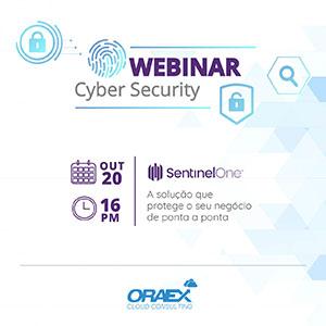 Webinar - Cyber Security - 20 outubro 2021