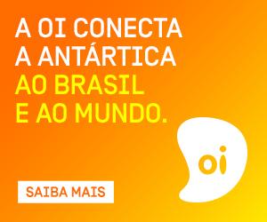 A Oi conecta a Antártica ao Brasil e ao mundo